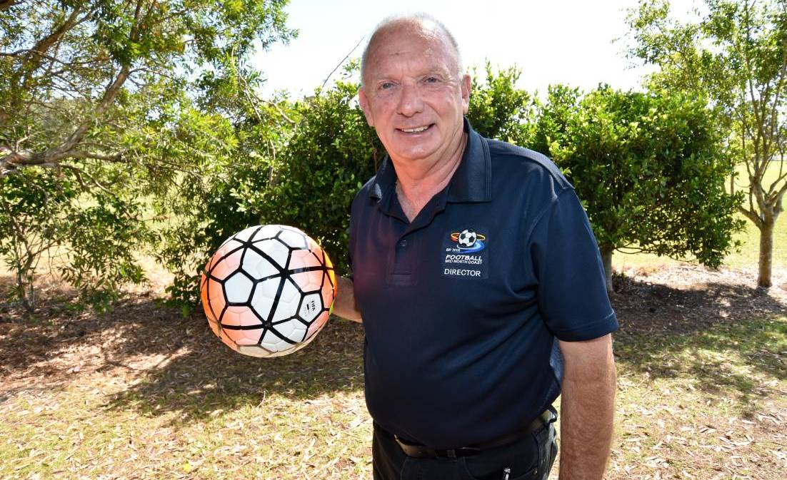 Football Mid North Coast chairman Mike Parsons.