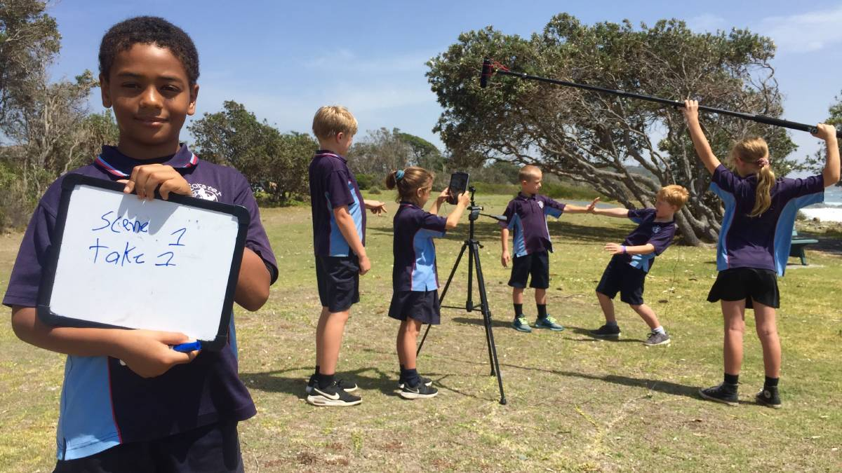 Students from Forster Public School are excited to showcase their cinematic talents at the upcoming 'Film by Pebbly' festival.