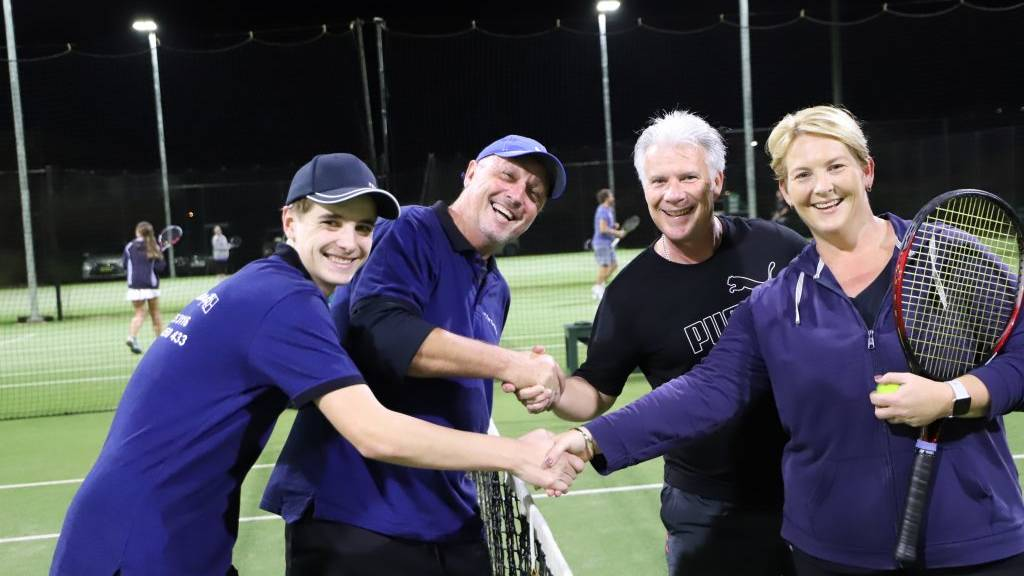 The 2019 NSW Country Tennis Championships at Forster was considered the biggest in the tournament's history.